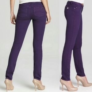 Michael Kors Skinny Jeans in Iris Deep Purple 8